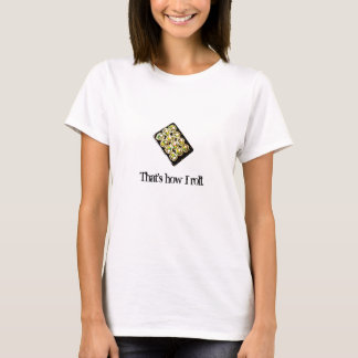 Kalifornien-Rolle T-Shirt