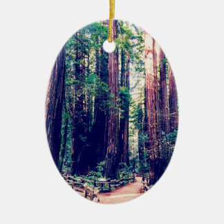 Kalifornien-Rothölzer Keramik Ornament