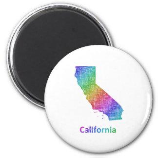 Kalifornien Runder Magnet 5,7 Cm
