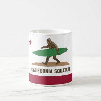 Kalifornien Squatch Kaffeetasse