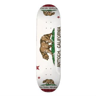 Kalifornien-Staats-Flagge Antioch Individuelles Skateboard
