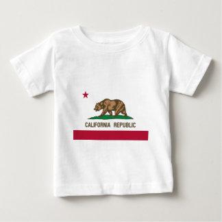 Kalifornien-Staats-Flagge Baby T-shirt