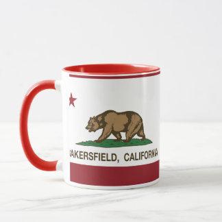 Kalifornien-Staats-Flagge Bakersfield Tasse