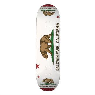 Kalifornien-Staats-Flagge Baldwin Park Bedruckte Skateboarddecks