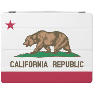 Kalifornien-Staats-Flagge iPad Hülle