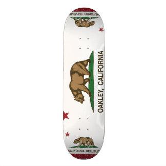 Kalifornien-Staats-Flagge Oakley Skateboard Deck