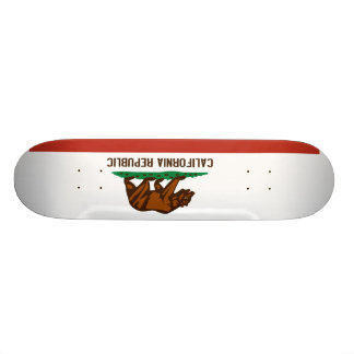 Kalifornien-Staats-Flagge Personalisierte Skateboarddecks