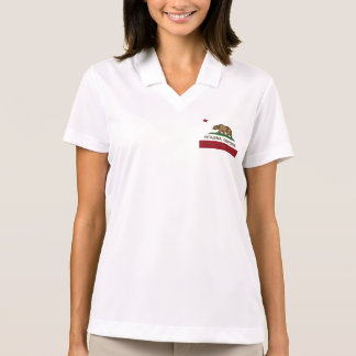 Kalifornien-Staats-Flagge Petaluma Polo Shirt