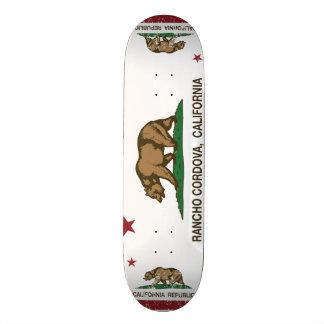 Kalifornien-Staats-Flagge Rancho Cordova Individuelle Skateboarddecks