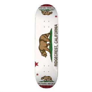 Kalifornien-Staats-Flagge Ridgecrest Bedruckte Skateboarddecks