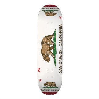 Kalifornien-Staats-Flagge San Carlos Skateboard Bretter