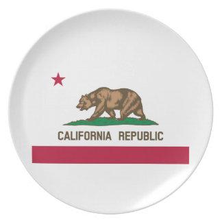 Kalifornien-Staats-Flagge Teller
