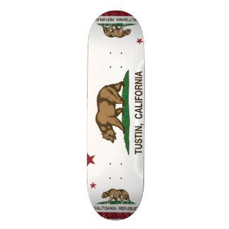 Kalifornien-Staats-Flagge Tustin Individuelle Skatedecks