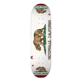 Kalifornien-Staats-Flagge Victorville Skateboarddecks