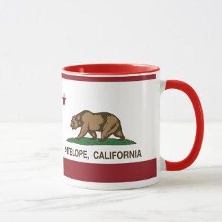Kalifornien-Staats-Flaggen-Antilope Tasse