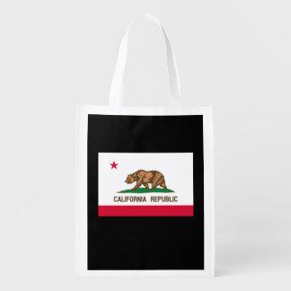 Kalifornien-Staats-Flaggen-Entwurf Tragetaschen