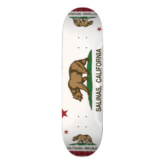 Kalifornien-Staats-Flaggen-Salinen 18,4 Cm Mini Skateboard Deck