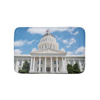 Kalifornien-Staats-Hauptstadt in Sacramento Badematte