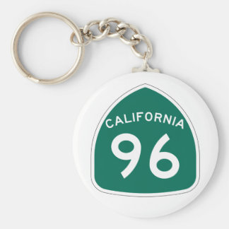Kalifornien-Staats-Weg 96 Schlüsselanhänger