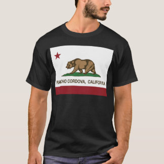 Kalifornien-Staatsflagge Rancho Cordova T-Shirt