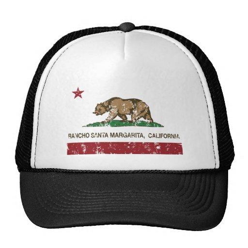 Kalifornien-Staatsflaggenranch Santa Margarita Trucker Cap