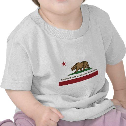 Kalifornien-Staatsflaggenranch Santa Margarita Hemden