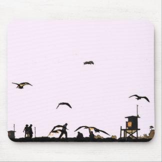 Kalifornien-Strand-gehende Mousepad