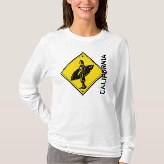 Kalifornien-Surfer Crosswalk Hoodie