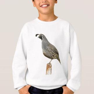 Kalifornien-Wachteln Sweatshirt