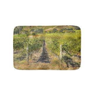 Kalifornien-Wein-Weinberg Badematten