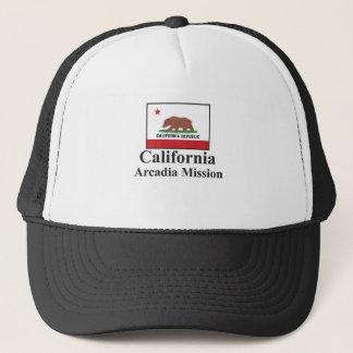 Kalifornienarcadia-Auftrag-Hut Truckerkappe
