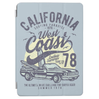 Kalifornienwestküsten-surfender Paradies-Sommer iPad Air Hülle