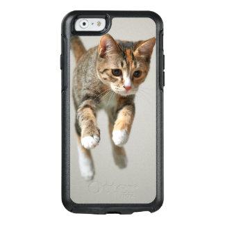 Kaliko-Katzen-Springen OtterBox iPhone 6/6s Hülle