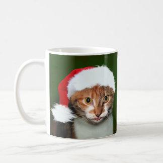 Kaliko-Miezekatze WeihnachtsHumbug Kaffeetasse
