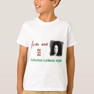 Kalkül Leibniz Art T-Shirt