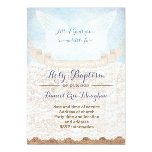 ... Kalligraphie Heilige Taufe Vintage Art Karten, Einladung ...
