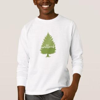 Kalligraphiebaum Portlands, Oregon T-Shirt