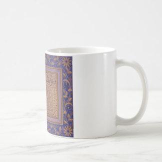 Kalligraphisches Schreiben in Sulus und Nesih Kaffeetasse