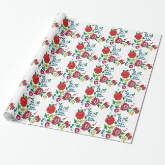 Kalocsa Stickerei Geschenkpapier