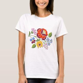 Kalocsa Stickerei - ungarische Volkskunst T-Shirt