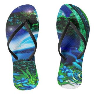 Kalte Glaszapfen Flip Flops