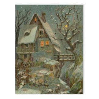 Kalte Heilige Nacht Postkarte