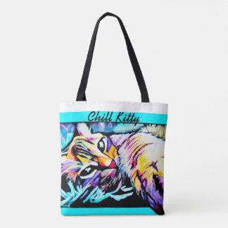 Kalte Kitty-Taschen-Tasche Tasche