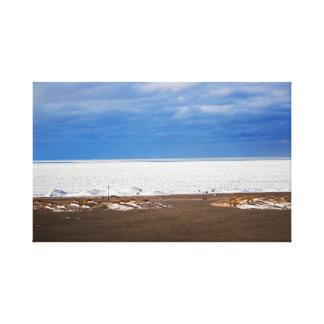 Kalte Winter-TagesLeinwand Gespannter Galerie Druck