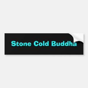 Kalter Buddha Steinautoaufkleber Autoaufkleber