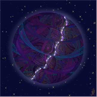 Kalter Eichen-Mond Freistehende Fotoskulptur