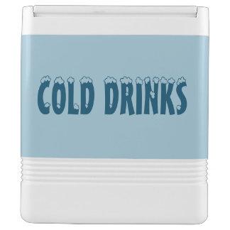 Kalter Getränk-Iglu kann cooler Kühlbox