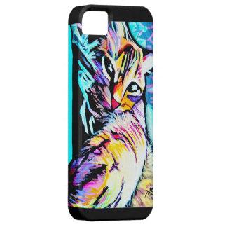 kalter Kitty lila Etui Fürs iPhone 5
