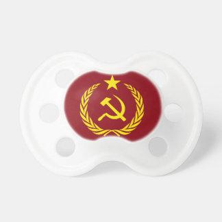 Kalter Kriegs-kommunistische Flagge BooginHead Schnuller