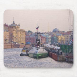 Kalter Kriegs-Unterseeboot Mousepad